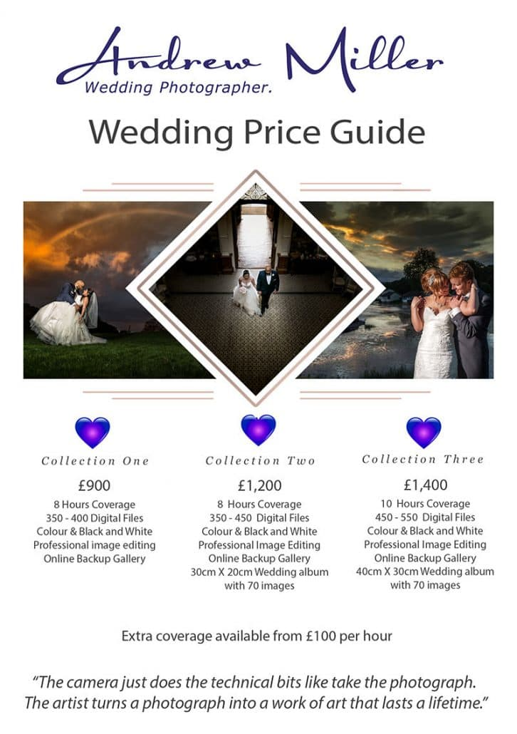 cardiff wedding photography prices from andrew miller