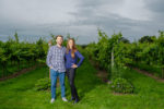 Rebecca and Matt pre wedding at Aldwick Court Farm & Vineyard