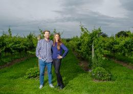 Rebecca and Matt pre wedding at Aldwick Court Farm & Vineyard