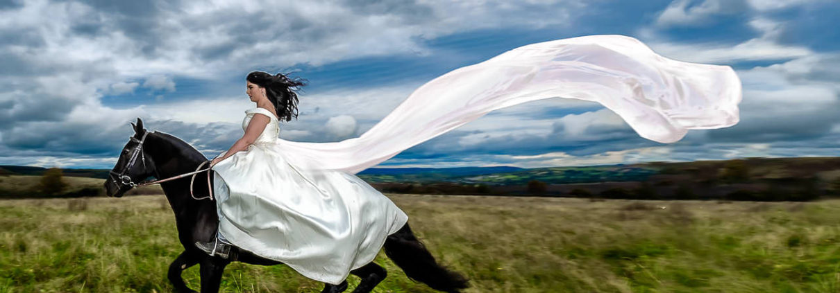 Bridal Equine Photography - Treasure The Dress