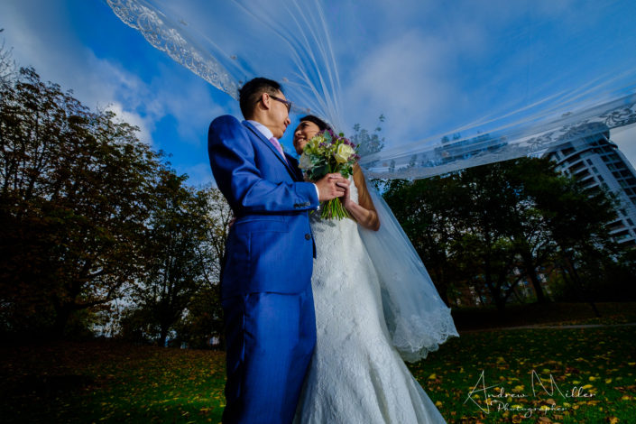 Marriott Bristol City Centre Wedding Photography