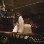 Cassidy & Matt's freezing wedding at St. Pierre Marriott Hotel & Country Club