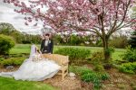 Stacey and Adam at Miskin Manor Hotel