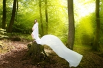 Woodland Maternity Photography Session - Jade
