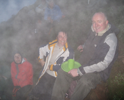 Birthday on Mount Snowdon